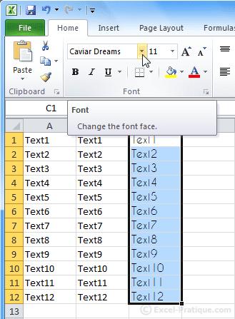 change format excel basics