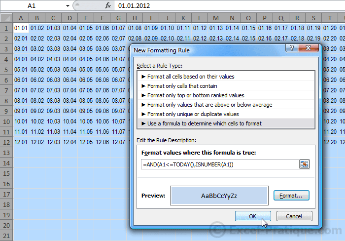 cf dates excel conditional formatting examples3
