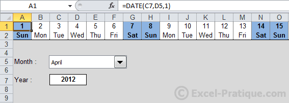 display cf weekends excel conditional formatting examples3