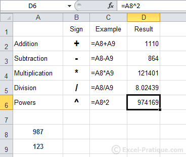 formulas excel calculations functions