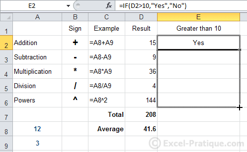 fill if function excel copying formulas