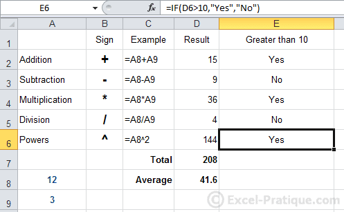 result after fill excel if function copying formulas