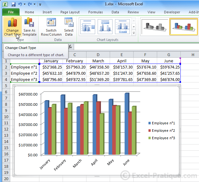 how to do a graph on excel