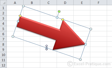 edit length height2 excel inserting shapes