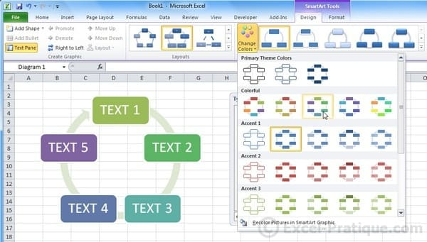 Excel Course: Inserting Objects (SmartArt)
