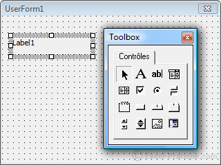 label - controls