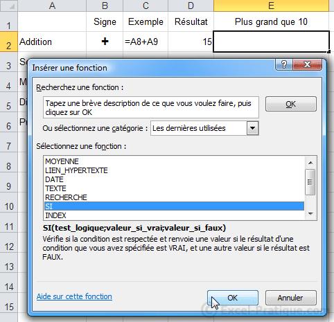 Cours Excel Fonction Si Recopie De Formules