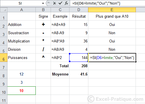 recopie correcte - excel fonction si recopie formules