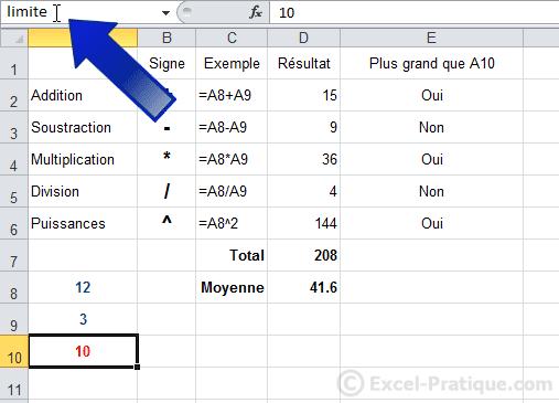 renommer cellule - excel fonction si recopie formules