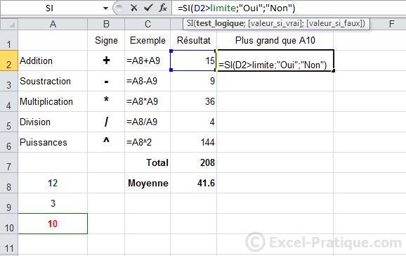utilisation nom cellule - excel fonction si recopie formules