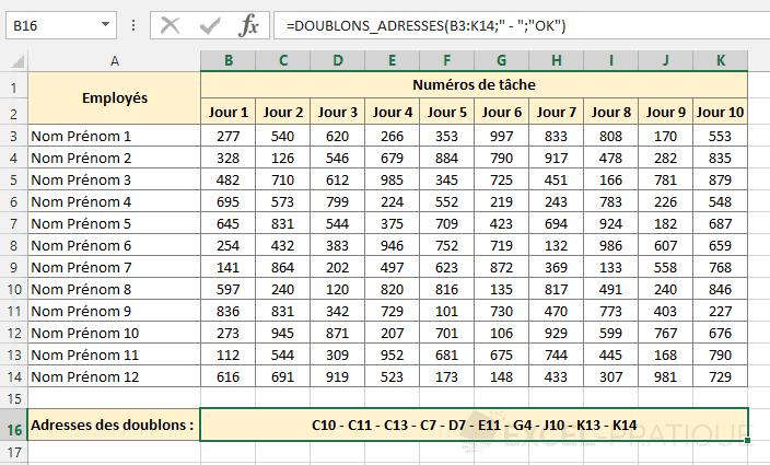 fonction-excel-adresses-cellules-doublons - doublons-adresses