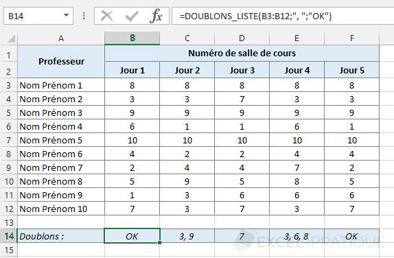 fonction-excel-liste-doublons-salles - doublons-liste