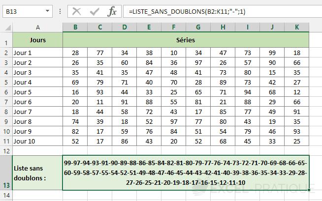 fonction-excel-retirer-doublons - liste-sans-doublons