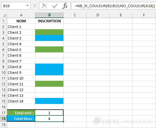 fonction excel compter couleur nb si