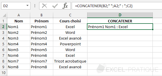 fonction-excel-concatener-texte - concatener
