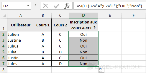 fonction-excel-et-tests-valeurs - et
