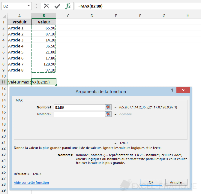 fonction-excel-max - max