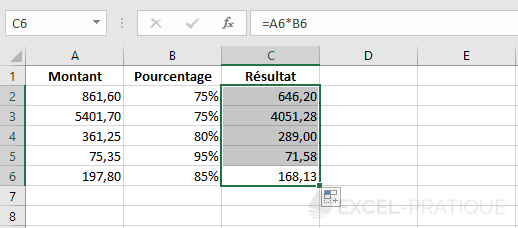 excel formule recopie incrementee formules