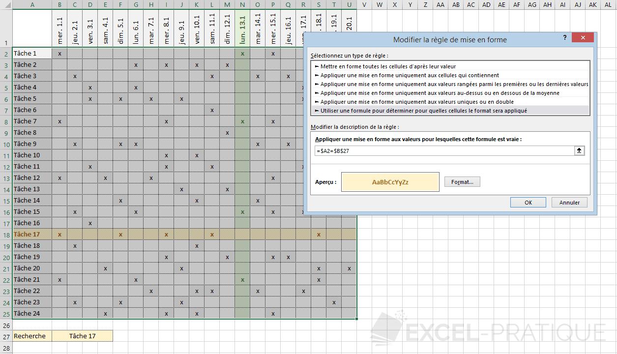 excel mfc colorer ligne colonne png personnalisee