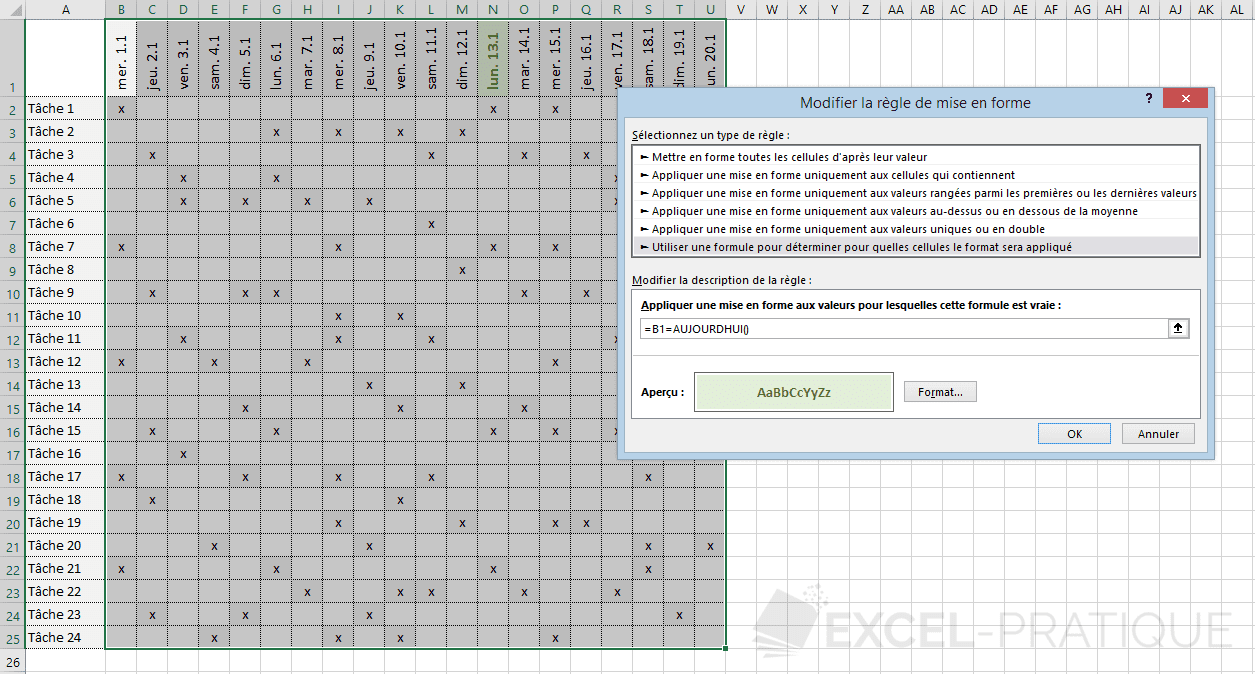 excel mfc formule aujourdhui png personnalisee