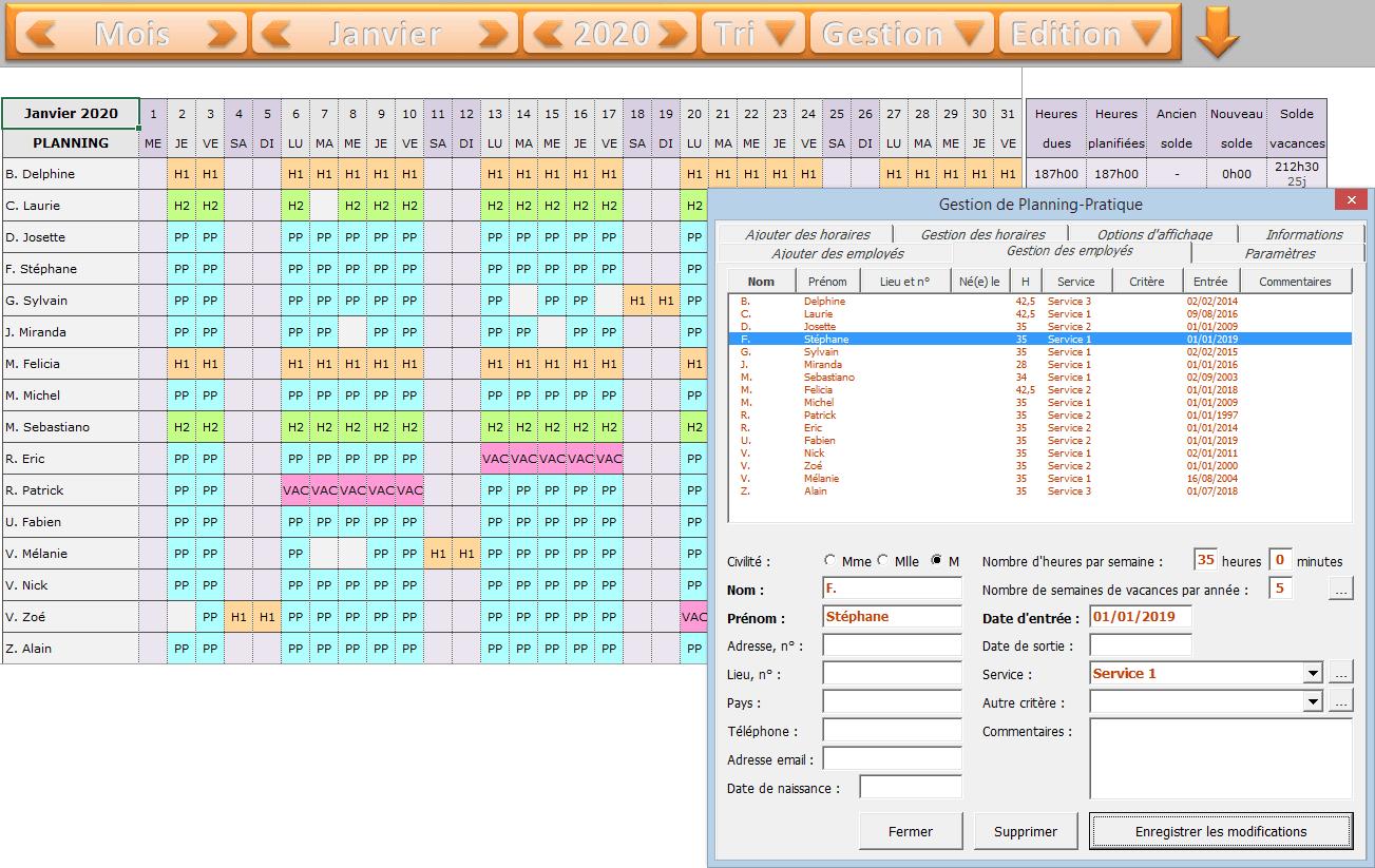 planning-excel-mensuel-employes - planning pratique