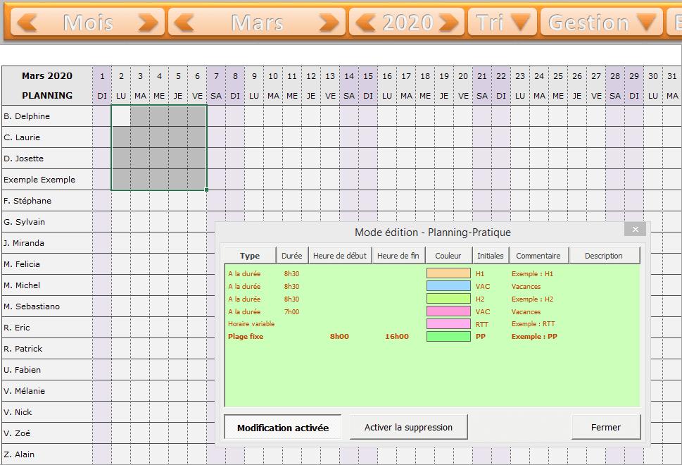 planning excel appliquer horaire png tutoriel