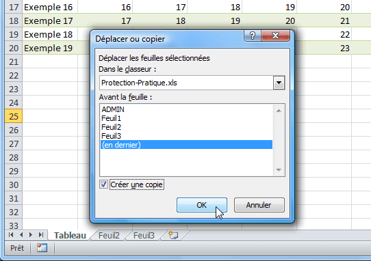 copie feuille2 tutoriel protection