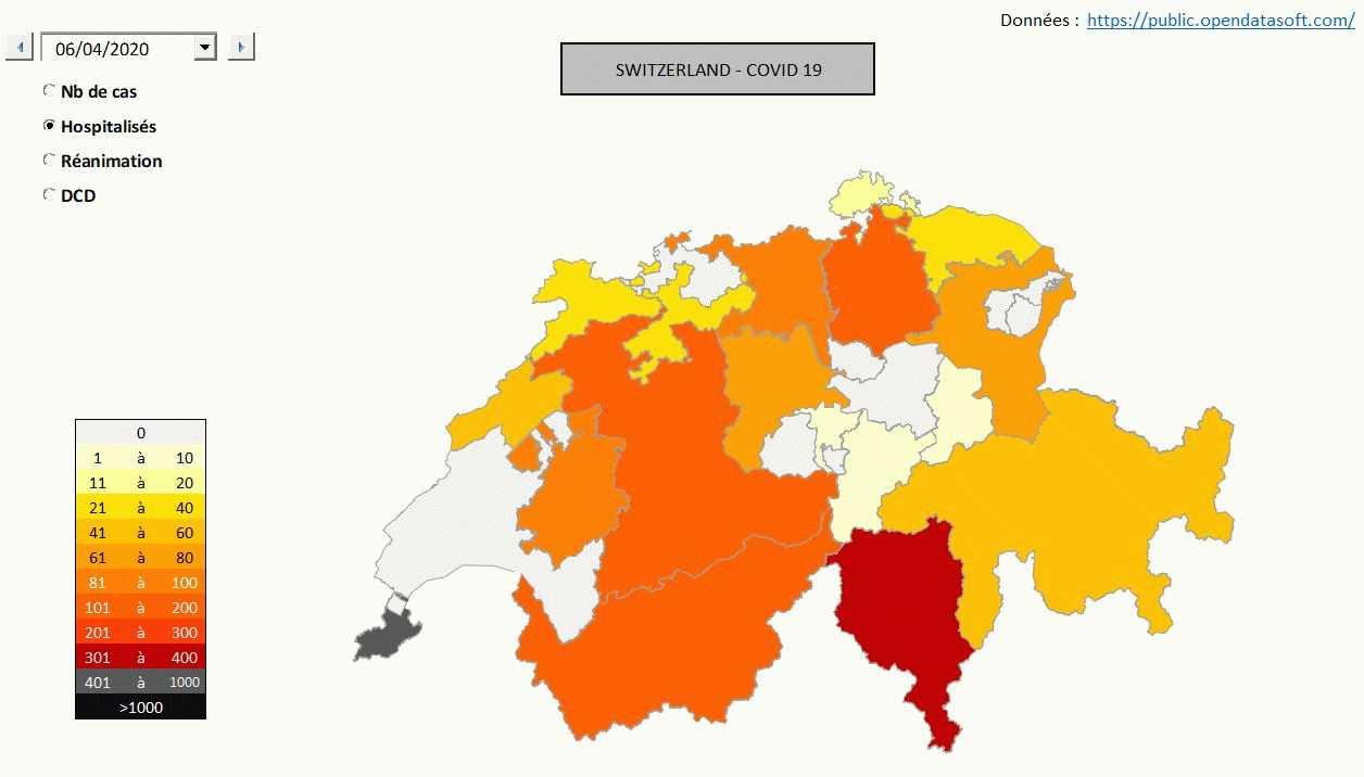 suivi pandemie covid 19 suisse