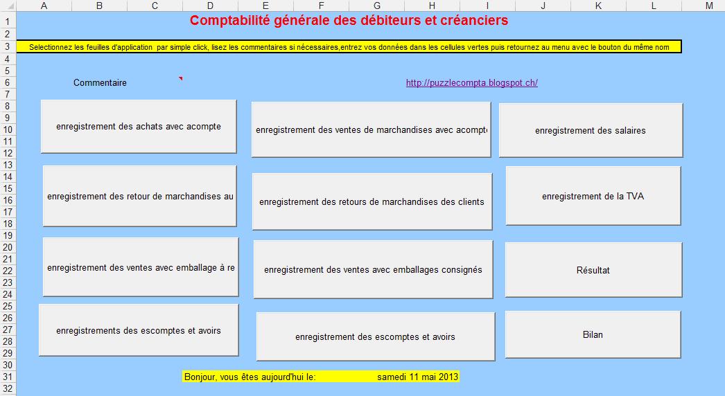 comptabilite des clients et fournisseurs