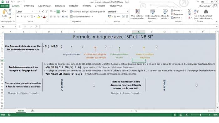 formule imbriquee avec si et nb.si
