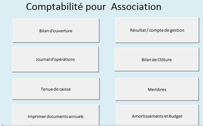 logiciel comptable pour association excel