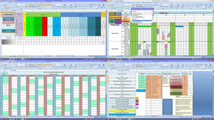 Applications Excel Gestion Du Personnel