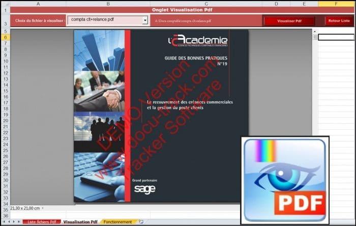 visualisateur fichiers pdf excel