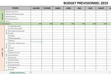 Budget Previsionnel