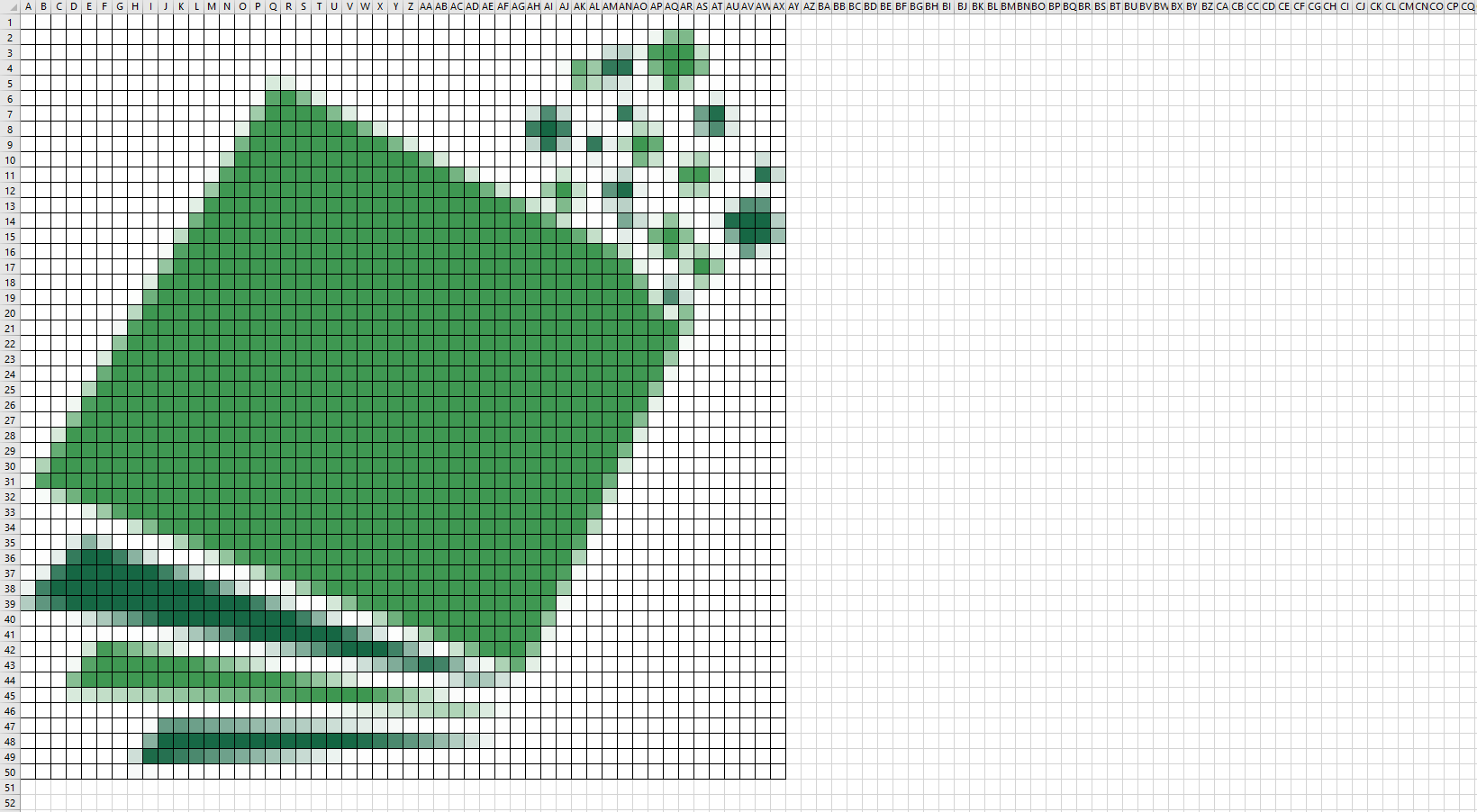 mosaique excel logo quadrillage png