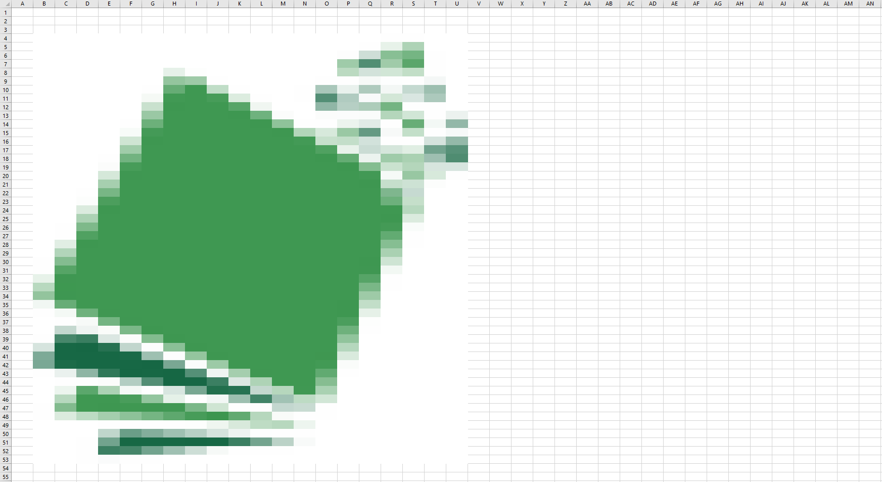 mosaique excel logo rectangle png