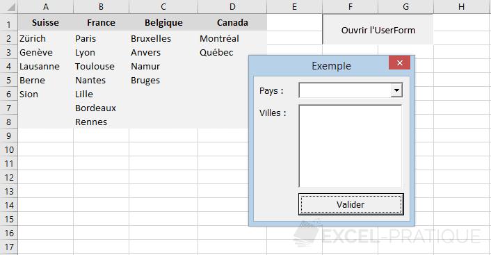 listes controles suite