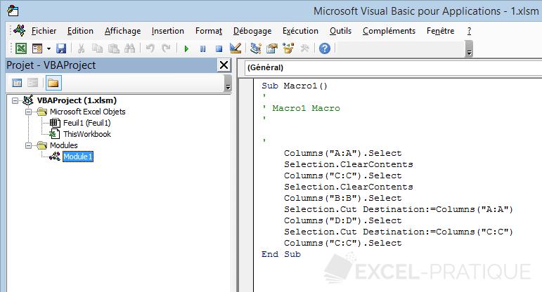exemple macro excel  u2013 ordinateurs et logiciels